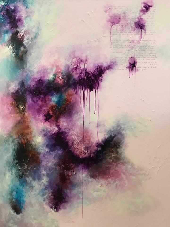 Love's Hidden Life (acrylic on canvas)